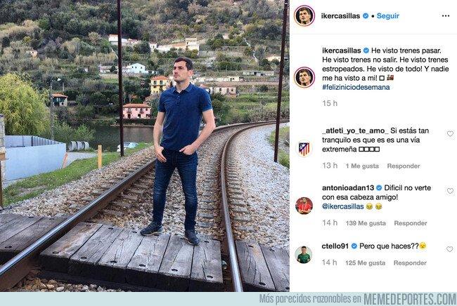1069436 - Adán y Tello se ríen de la nueva foto filosófica de Casillas