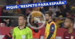 Enlace a Piqué mandó callar a los que gritaron 'qué puta es España'