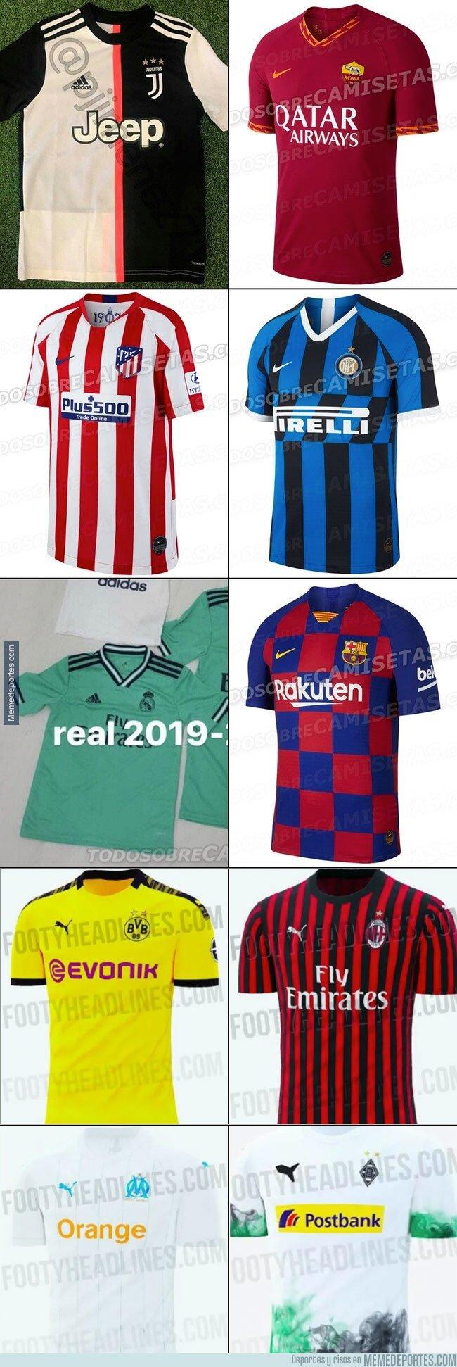 1069562 - Como es costumbre, pasado el meridiano de la temporada se empiezan a filtrar las camisetas del próximo curso. Aquí las primeras