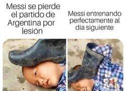 Enlace a Lo de Messi no era tan grave como parecía