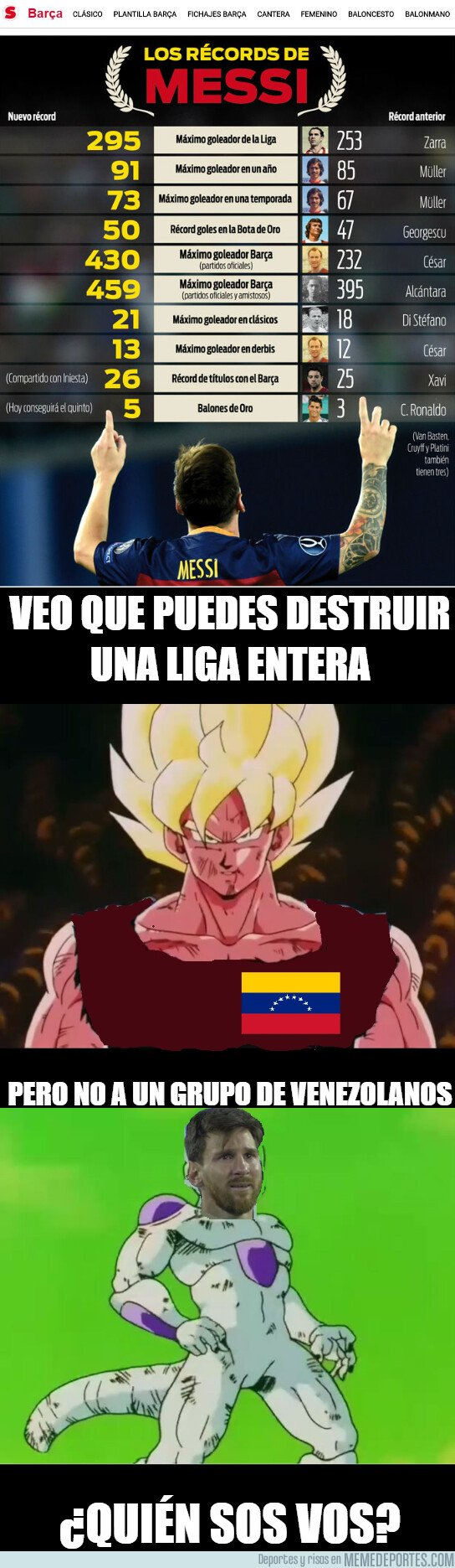 1069610 - Messi vs Venezuela versión Dragon Ball Z