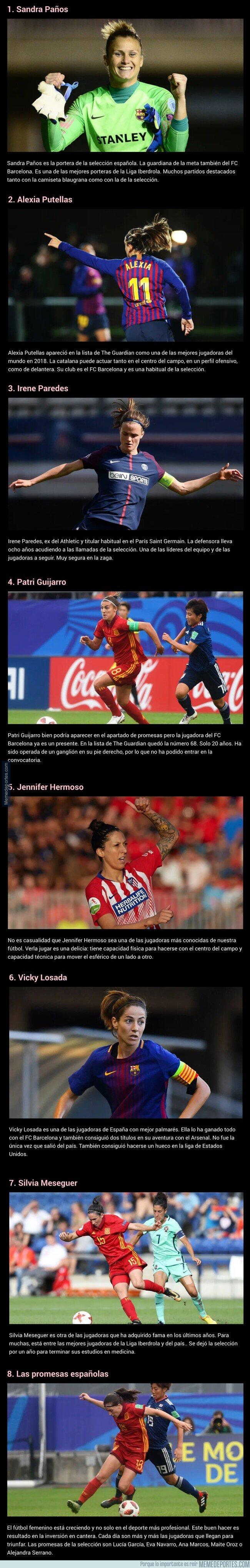1069629 - ¿Conoces a las mejores jugadoras de la selección española femenina de fútbol? Aquí las tienes