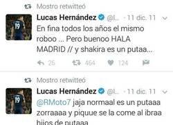 Enlace a Buen momento para recordar estos tweets antiguos de Lucas Hernández