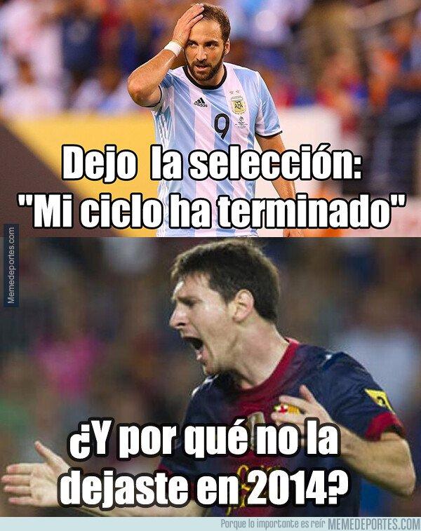 1069679 - La pregunta que se hace Messi y toda Argentina