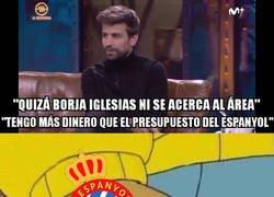 Enlace a Piqué pica al Espanyol antes del derbi