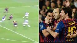 Enlace a La prueba de que Xavi, Iniesta y Messi juntos eran imparables