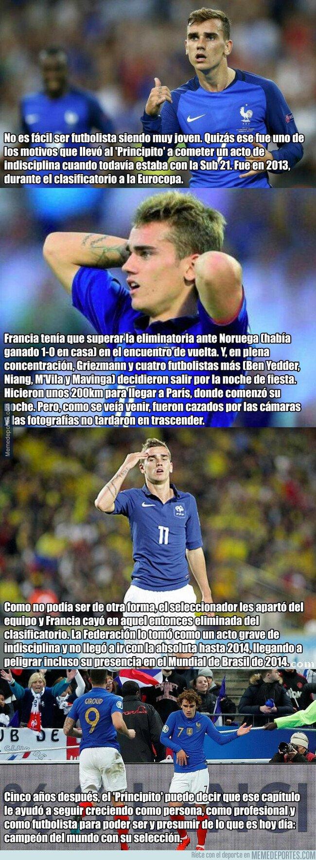 1069734 - El episodio oscuro de Griezmann en la Selección Francesa