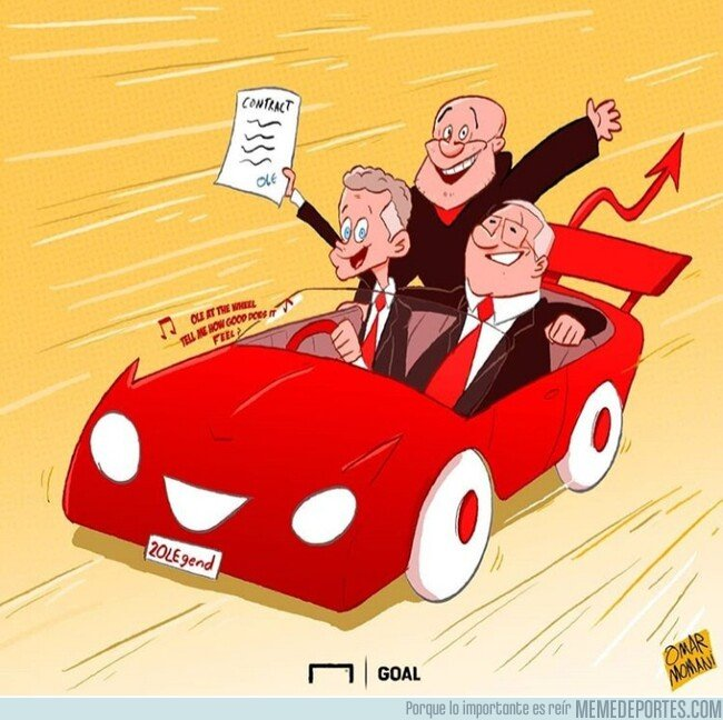 1069796 - Solskjaer seguirá al mando del United, por @omarmomani