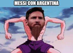 Enlace a Messi y su mágica transformación