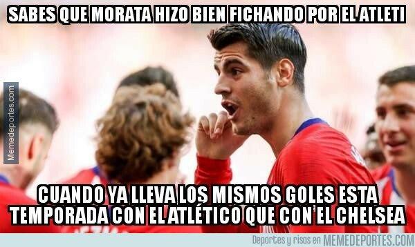 1069857 - Morata encuentra su sitio en el Atleti