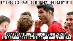 Enlace a Morata encuentra su sitio en el Atleti