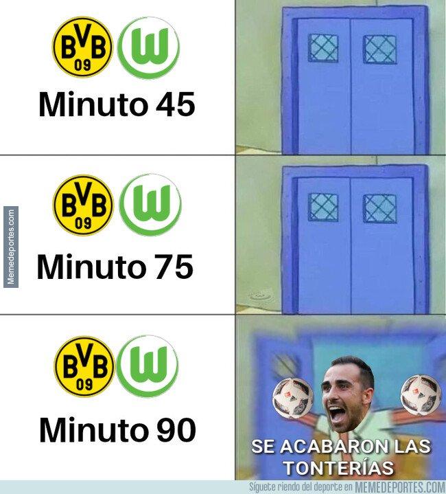 1069864 - Alcácer marca un doblete para la victoria del Dortmund