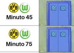 Enlace a Alcácer marca un doblete para la victoria del Dortmund