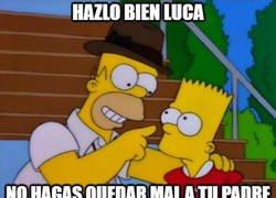 Enlace a Los Simpsons también predijeron que Zidane pondría de titular a su hijo