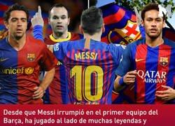 Enlace a Las estadísticas de Messi sin Xavi, Iniesta y Neymar no son lo que la gente esperaba