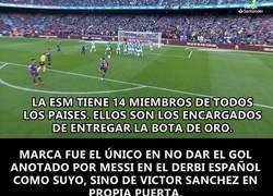 Enlace a La ESM habló con Marca sobre el gol de Messi que no concedieron