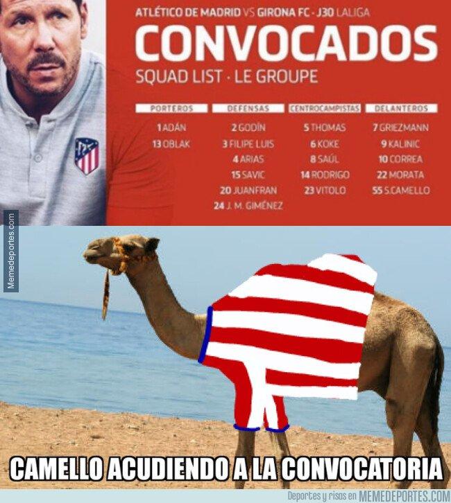 1070032 - Camello ha sido convocado con Atlético