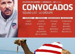 Enlace a Camello ha sido convocado con Atlético