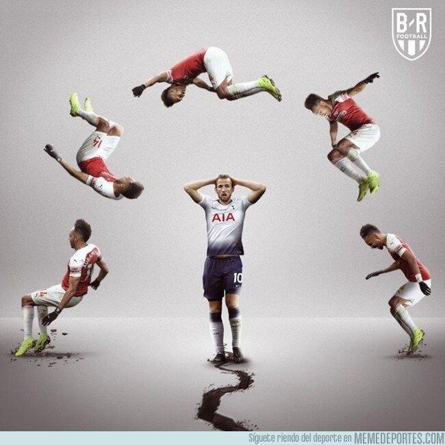 1070035 - El Arsenal le quita la tercera plaza al Tottenham, por @brfootball