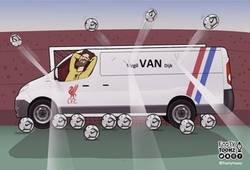 Enlace a Alisson y el Liverpool puede estar tranquilos con Van Dijk, por @footytoonz