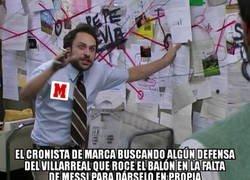 Enlace a MARCA ya busca autor al gol de Messi
