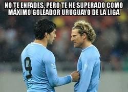 Enlace a Suárez entra en la historia de La Liga con sus 129 goles