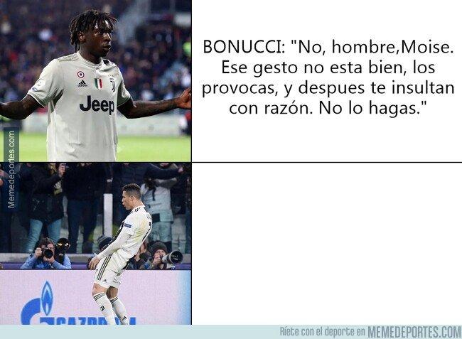 1070209 - No me gustaría un capitán como Bonucci, la verdad