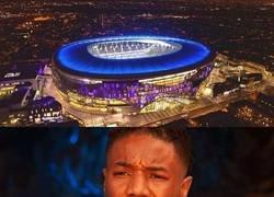 Enlace a Cuando ves el nuevo estadio de los Spurs