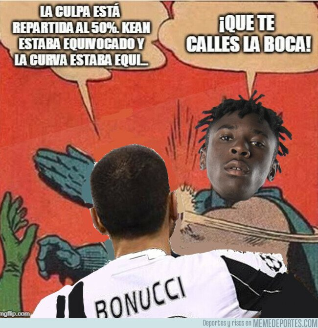 1070376 - Lo de Bonucci visto en clave de meme