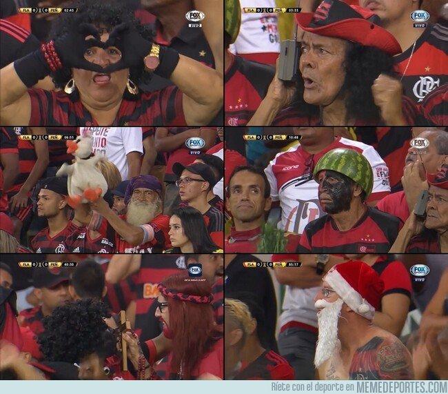 1070379 - Los fans del Flamengo. Cada uno más random que el otro. Bendito sea ese país.