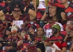Enlace a Los fans del Flamengo. Cada uno más random que el otro. Bendito sea ese país.