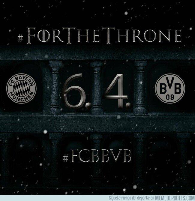 1070455 - Así fragua el Bayern el partido contra el Dortmund. Bastante certero.