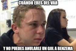 Enlace a No importa cuantos  goles anulen a Benzema, terminará marcando