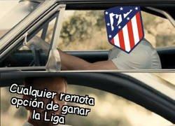 Enlace a El Atlético perdió lo poco tenía