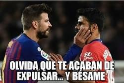 Enlace a Esto le dijo Piqué a Diego Costa