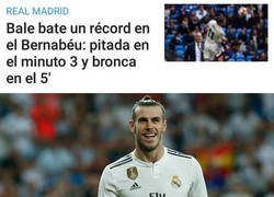 Enlace a Bale ya empieza a batir récords