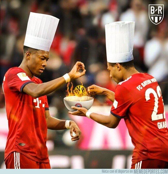 1070620 - El Bayern 'cocinó al Dortmund y ya tiene la Bundesliga lista para servir, por @brfootball