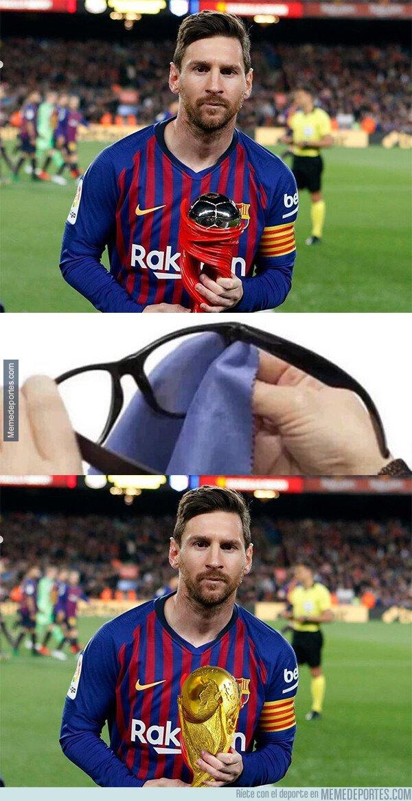 1070627 - El trofeo que realmente merece Messi