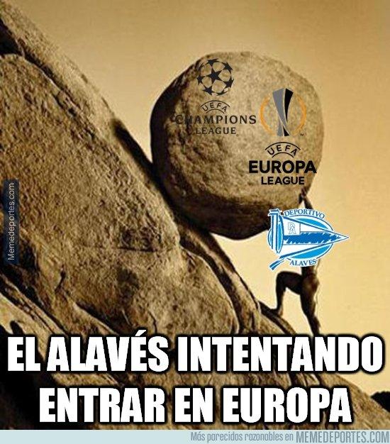 1070628 - Al Alavés se le complica la entrada en Europa