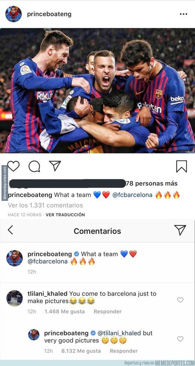 1070639 - La respuesta de Boateng a un tipo que trató de pasarse de listo con él en Instagram