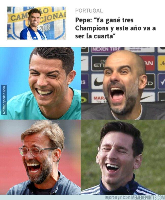 1070699 - Pepe es muy optimista con su Oporto