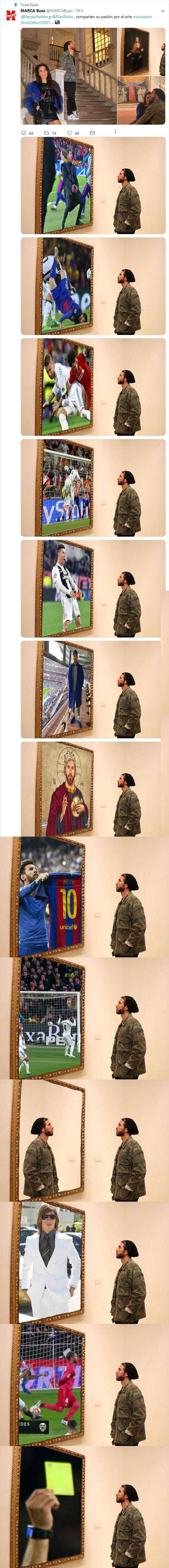 1070786 - Los mejores chopeos de Sergio Ramos en el Museo
