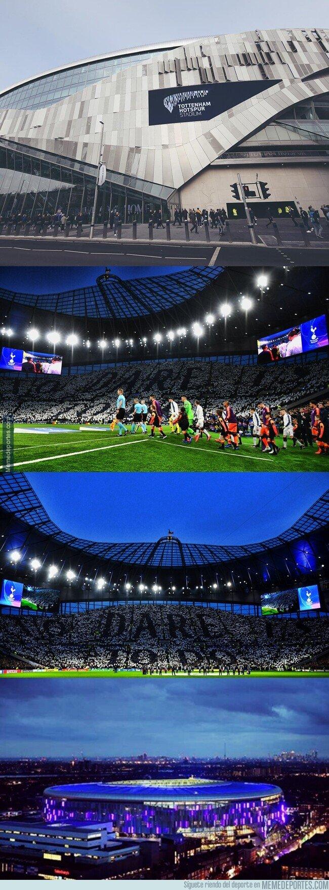 1070871 - La primera noche de Champions en la historia del Tottenham Stadium