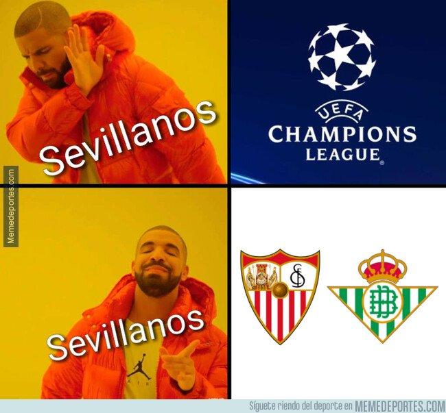 1070885 - En Sevilla, la Champions no es el principal aliciente deportivo de la semana