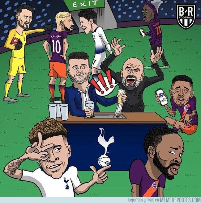 1070896 - Así se vivió el Tottenham-Manchester City, por @brfootball