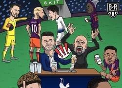 Enlace a Así se vivió el Tottenham-Manchester City, por @brfootball