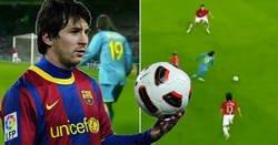 Enlace a Las mejores jugadas de la última vez que Messi jugó en Old Trafford, hace 11 años