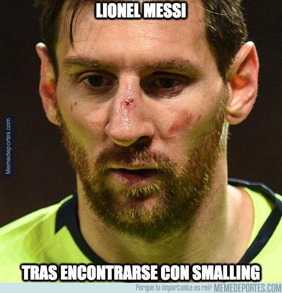 1071021 - Ahora Messi ya conoce a Smalling