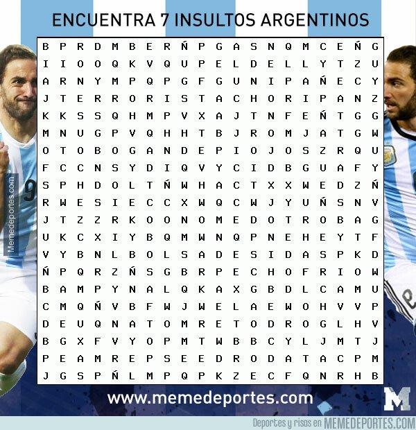 1071043 - Encuentra 7 insultos argentinos