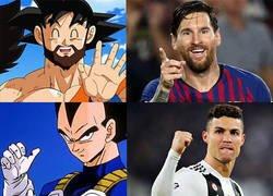 Enlace a Así serían Messi y CR7 fusionados